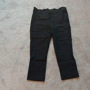 NWOT Black cropped pants